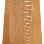 regály na prodejnu stojan ze slatwall drážkového panelu